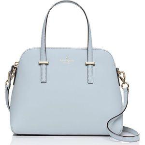 Kate Spade Cedar Street Maise Blue Satchel Handbag